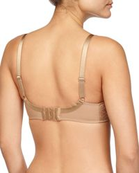 Chantelle - Natural Illusion Molded Full-coverage Lace Bra - Lyst