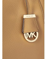 Michael Kors | Brown Riley Large Leather Tote | Lyst