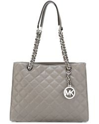Michael Kors - Gray Susannah Medium Tote - Lyst