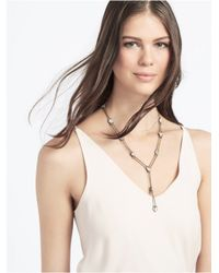 BaubleBar - Metallic Satellite Y-chain - Lyst