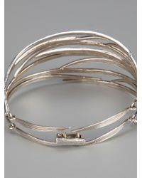 Wouters & Hendrix - Metallic Bamboo Bracelet - Lyst