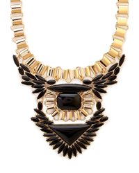 Forever 21 - Metallic Tribal-inspired Statement Necklace - Lyst