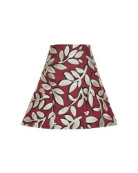 Marni - Natural Floral Jacquard Mini Skirt - Lyst