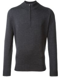 John Smedley | Gray 'wyvern' Sweater for Men | Lyst