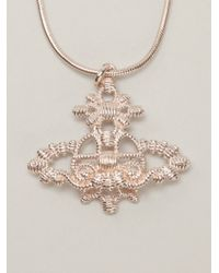 Vivienne Westwood Anglomania | Pink 'isolde' Pendant | Lyst