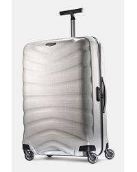 Samsonite | White 'firelite' Rolling Suitcase for Men | Lyst