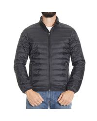 Armani Jeans | Black Down Jacket for Men | Lyst