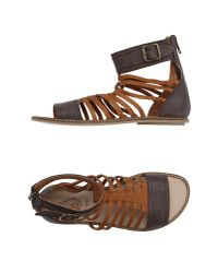 Dondup - Brown Sandals - Lyst