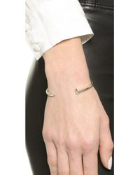 Giles & Brother | Metallic Mini Railroad Spike Bracelet - Silver Ox | Lyst