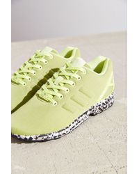 Adidas - Yellow Zx Flux Prism Sole Sneaker - Lyst