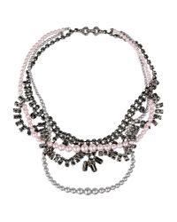 Tom Binns | Gray Necklace | Lyst