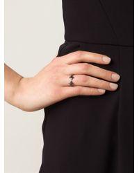 Vivienne Westwood - Black 'Reina' Rings - Lyst
