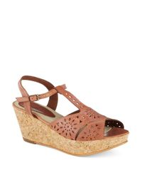 Matisse | Natural Sweet Cork Wedges | Lyst