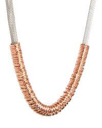 Tokyo Jane - Pink Gunda Necklace - Lyst