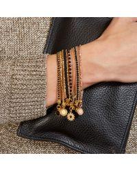 Astley Clarke | Blue Goldstone Sun Friendship Bracelet | Lyst