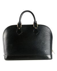 Louis Vuitton   Black 'alma' Tote Bag   Lyst