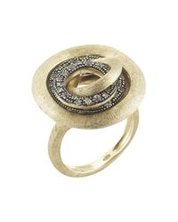 Marco Bicego - Metallic Pre-Owned: Jaipur Diamond Link Ring - Lyst