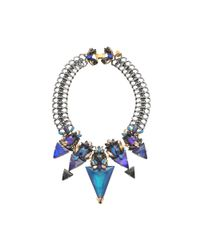 Erickson Beamon - Blue Talitha Necklace - Lyst