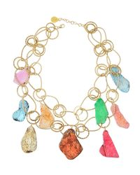 Devon Leigh | Multicolor Howlite Double-Strand Necklace | Lyst