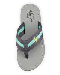 Original Penguin | Gray Poolside Slip-on Thong Sandal for Men | Lyst
