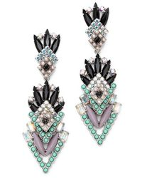Elizabeth Cole | Purple Averell Earrings, Lavender Mint | Lyst
