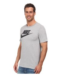 Nike | Gray Futura Icon Tee for Men | Lyst