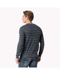 Tommy Hilfiger | Gray Cotton Blend Cardigan for Men | Lyst