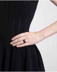 Repossi - 18k Black Gold 8 Rows Antifer Ring - Lyst