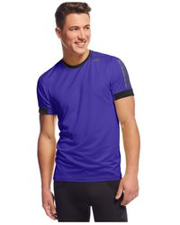 Adidas | Purple Supernova Climacool T-shirt for Men | Lyst