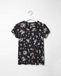 Proenza Schouler | Black Short Sleeve T-shirt | Lyst