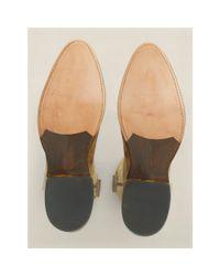 RRL - Brown Leather Plainview Cowboy Boot for Men - Lyst