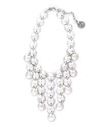Natalie B. Jewelry - Metallic Natalie B. Tears Of Joy Necklace In Silver - Lyst