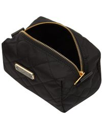 Marc By Marc Jacobs - Large Black Crosby Quilted Cosmetic Bag - Lyst