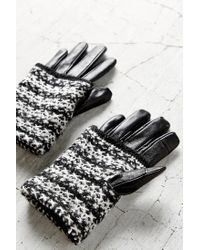 Urban Outfitters | Multicolor Marled Overlay Leather Texting Glove | Lyst