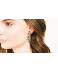 John Hardy | Black Classic Chain Earrings | Lyst