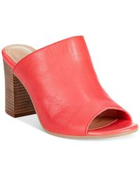 Bella Vita - Red Italian Collection Arno Mule Sandals - Lyst