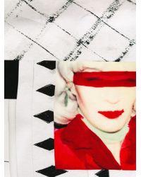 Each x Other - Black Debbie Harry Photo Print Scarf - Lyst