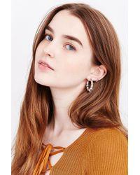 Urban Outfitters | Metallic Sydney Hoop Earring | Lyst