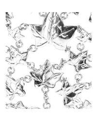 Alexander McQueen - Metallic Ivy Finger Bracelet - Lyst