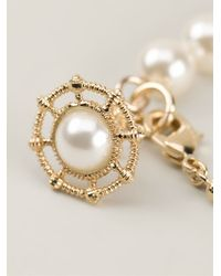 Vivienne Westwood - Metallic 'Islode' Pearl Bracelet - Lyst