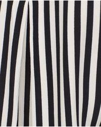 Zara | Black Long Blouse | Lyst