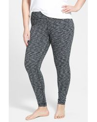 Zella | Black 'live In' Slim Fit Reversible Leggings | Lyst