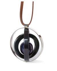 Marni | Blue Spinning Sphere Necklace | Lyst