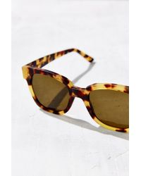 Kyme - Brown Terry Square Sunglasses - Lyst