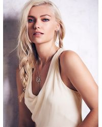 Free People | White Multi Layered Chiffon Dress | Lyst