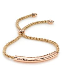 Monica Vinader | Natural Esencia Scatter Friendship Bracelet | Lyst