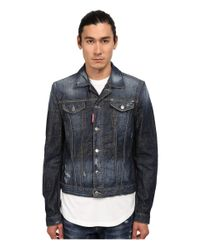 DSquared² - Blue Phoenix Denim Jacket for Men - Lyst
