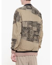 Miharayasuhiro - Natural Baseball Jacket for Men - Lyst