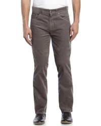 Billabong | Gray Straight Fifty Corduroy Pants for Men | Lyst