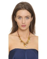 Venessa Arizaga | Metallic Stargazer Necklace - Carmine | Lyst